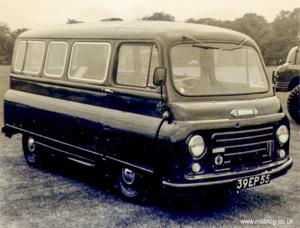 Morris J2 Van Parts