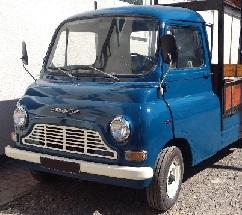 Morris JU250 Van Parts