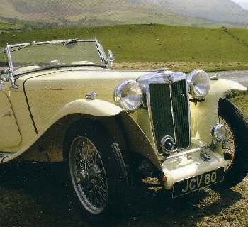 MG T Type Parts