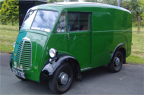 Morris J Type & JB Van Parts