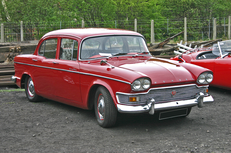 Humber Super Snipe Car Parts