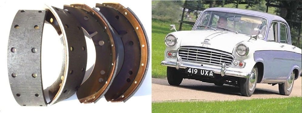 FRONT or REAR BRAKE SHOES SET (Standard Vanguard Phase 3, Sportsman & Vignale) (1955- 60 Only)