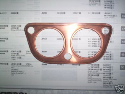 EXHAUST DOWNPIPE GASKET (Triumph 1500RWD Saloon) (** From Mar 75- 76 **)