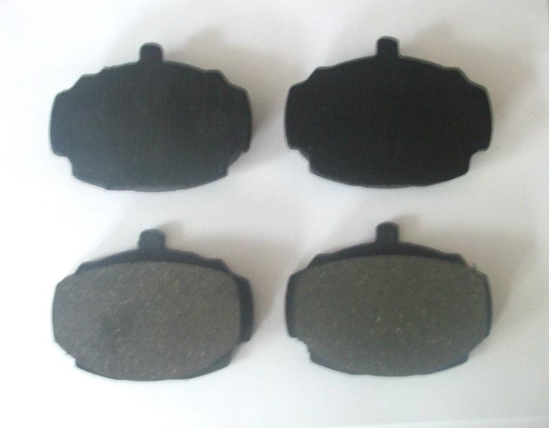 FRONT BRAKE PADS SET (Hillman Super Minx) (Ser 2 3 4 5) (1962- 67)