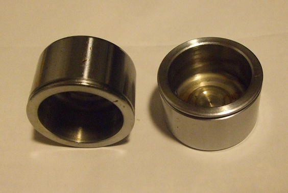 FRONT BRAKE CALIPER PISTONS x2 (Ford Cortina Mk1) (Lotus & GT) (1963- Aug 65)