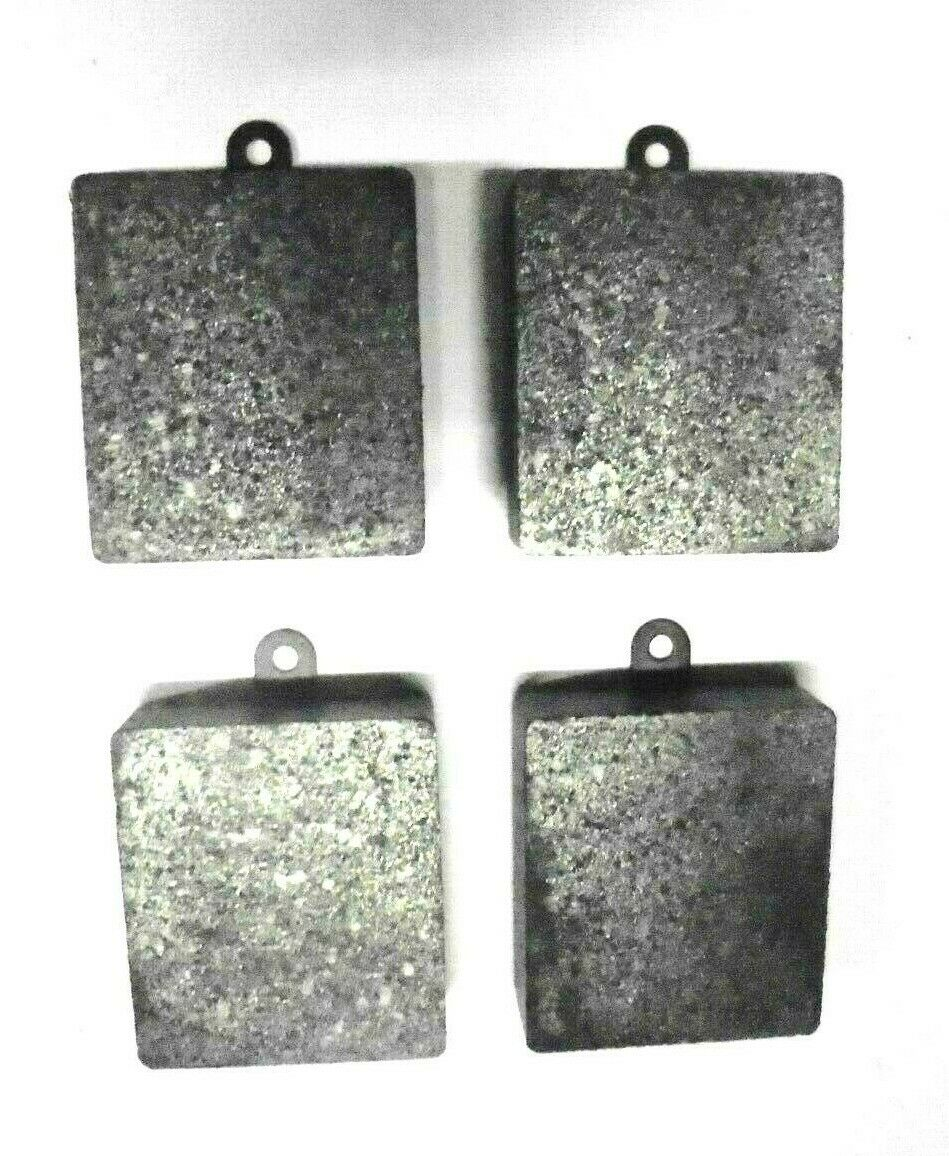 FRONT or REAR BRAKE PADS SET (Jaguar Mk1 Saloon) (** SQUARE TYPE PADS **) (1955- 58)