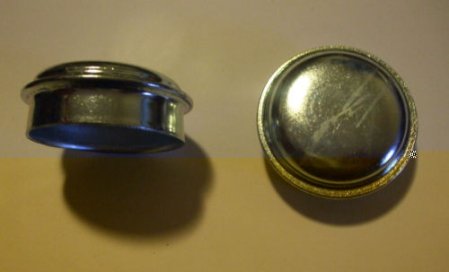 FRONT HUB GREASE CAPS x2 (MGB & MGB V8) (Excluding Wire Wheels)