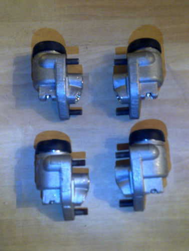 FRONT BRAKE WHEEL CYLINDERS x4 (Austin A50 Cambridge) (1955- 56 Only)
