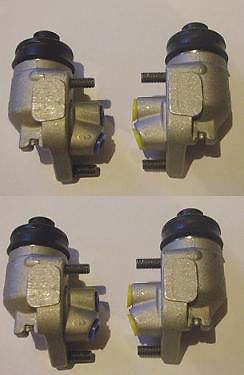 FRONT BRAKE WHEEL CYLINDERS x4 (Austin A70 Hereford) (** From 1951- 54 **)
