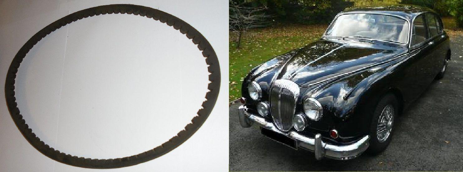 FAN BELT (Daimler V8 250 2.5 Litre Saloon) (**Crankshaft to Fan** ) (1962- 69)