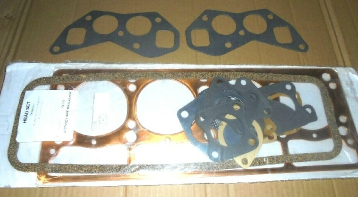 HEAD GASKET SET (Triumph TR3 TR4) (** 2138cc Only **) (From 1959- 62)