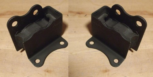 FRONT ENGINE MOUNTS x2 (Lotus Europa) (Ser. 1 & 2) (1966- 71 Only)