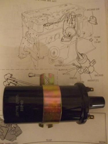 BALLAST IGNITION COIL (Triumph Toledo) (1300cc & 1500cc) (1970- 76)