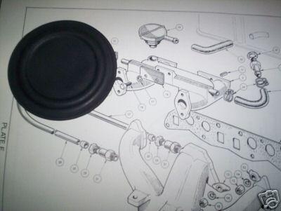 BREATHER DIAPHRAM (Triumph Spitfire & GT6)