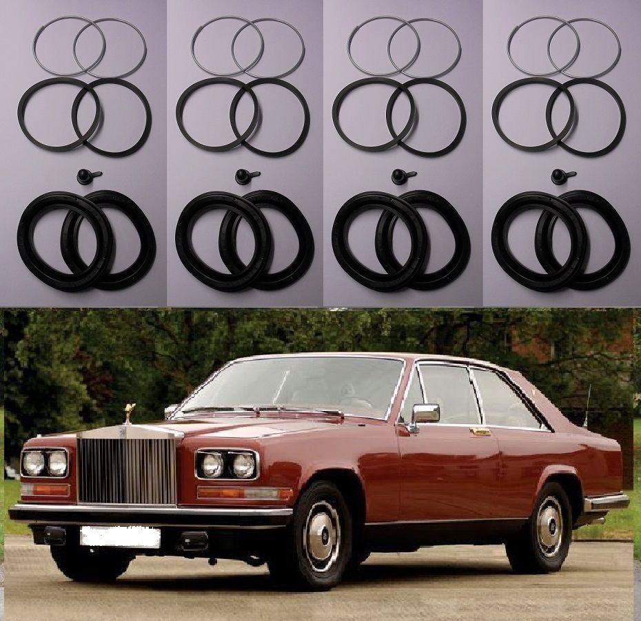 FRONT BRAKE CALIPER REPAIR SEALS KITS x2 (Rolls Royce Camargue) (1975- 79 Only)
