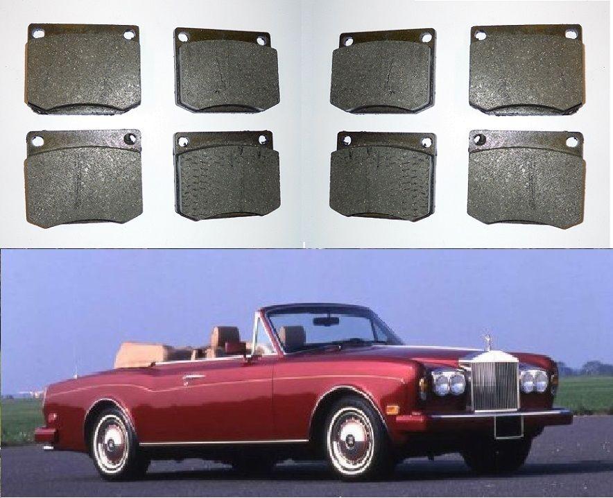 FRONT BRAKE PADS SET (Rolls Royce Corniche) (1965- Jan 73 Only)
