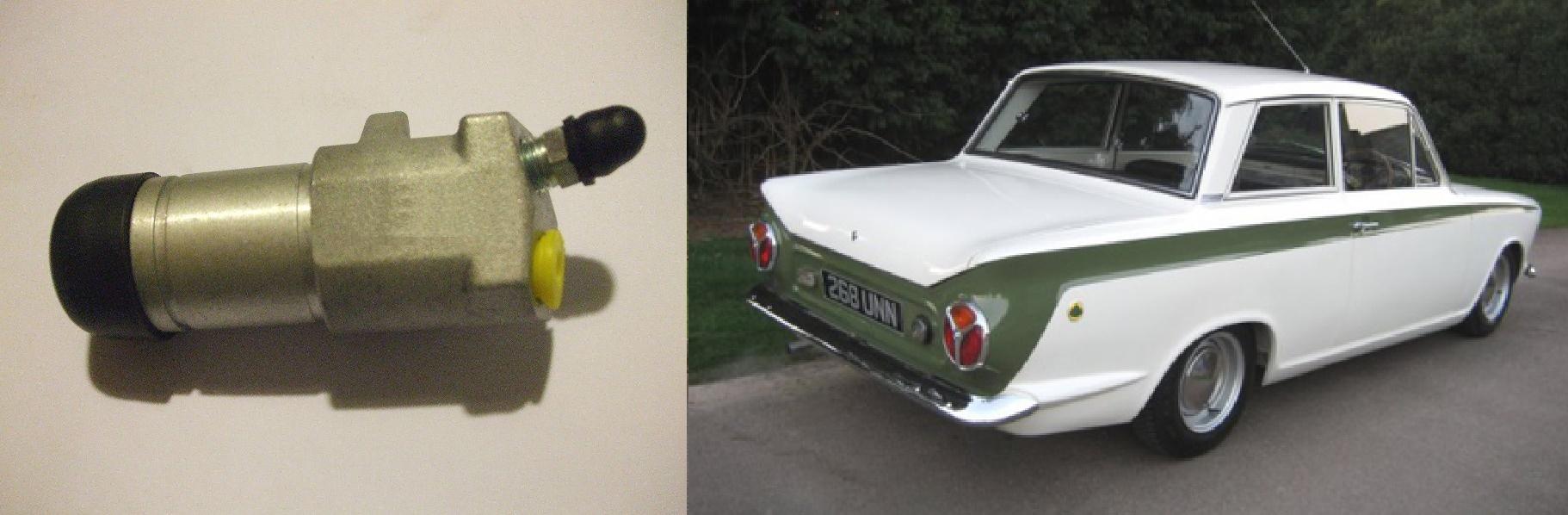 1962-74 TRIUMPH GT6 Vitesse Kit Car     CLUTCH MASTER CYLINDER
