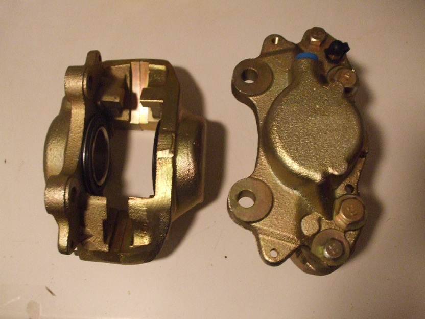 FRONT BRAKE CALIPERS x2 (Morris 1800 Saloon) (1964- Mar 72 Only) ** IMPERIAL **