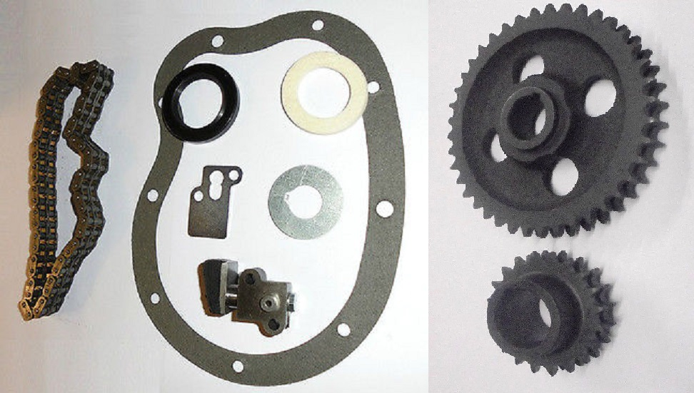 TIMING CHAIN KIT & SPROCKETS (MG B MGB 1800) (Duplex Type) (**1962- 71 Only **)