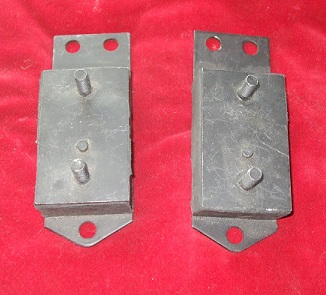 ENGINE MOUNTS x2 (Morris Oxford) (Ser.5) (1959- 61 Only)