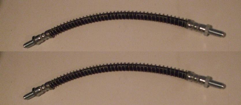 FRONT BRAKE HOSES x2 (MGC) (3.0 Litre) (1967- 69)