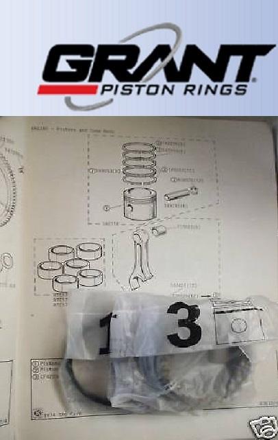 PISTON RINGS SET Std (Triumph Vitesse 2.0) (Mk1 & Mk2) (1966- 71)