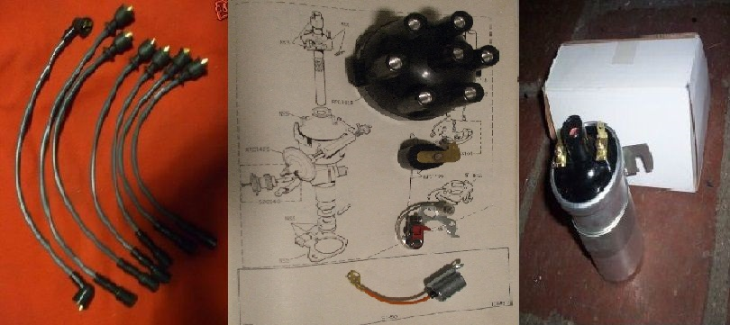 IGNITION KIT (Triumph TR5 TR6) (1967- 74 Only)