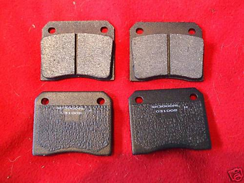 REAR BRAKE PADS SET (ISO Lele Fidia Grifo) (1968- 74)