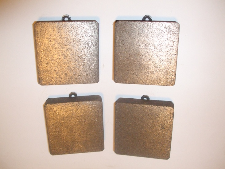 FRONT BRAKE PADS SET (Iso Rivolta) (1962- 64 Only)