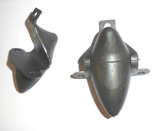 FRONT UPPER BUMP STOPS x2 (MG TD TF) (1950- 55)