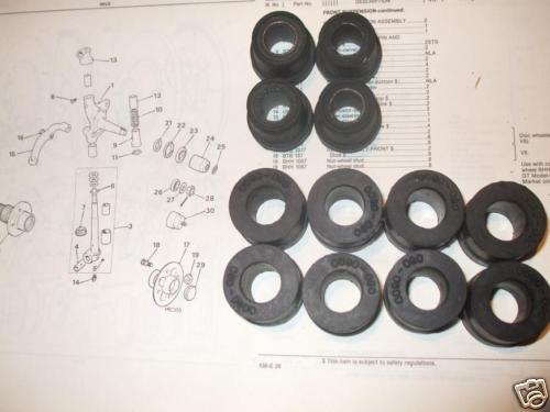 FRONT SUSPENSION WISHBONE BUSHES x12 (MG B MGB GT)