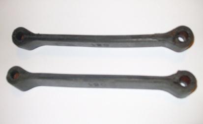 REAR AXLE REBOUND RUBBER STRAPS x2 (MG Midget) (Dec 74- 79)