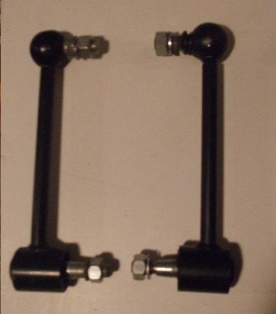 REAR DAMPER DROP  LINKS x2 (MG TD & TF) (1950- 55)