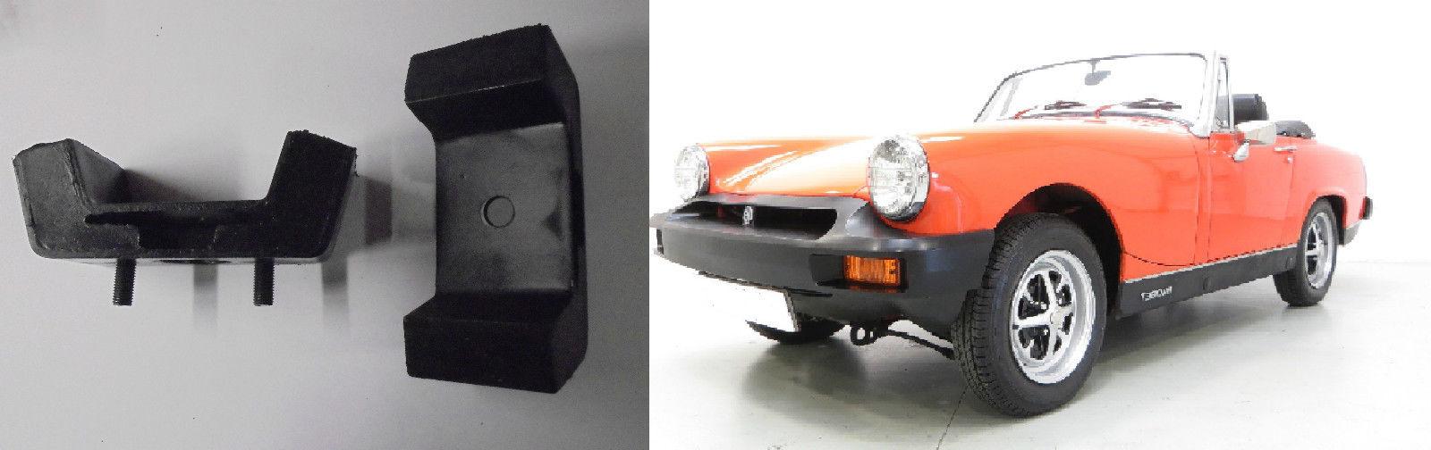 ENGINE MOUNTS x2 (MG Midget 1500) (** Dec 74- 79 **)