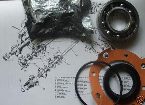 REAR WHEEL HUB BEARING KIT x1 (Austin A30 & A35) (1952- 68)