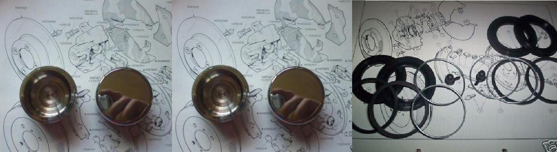 FRONT BRAKE CALIPER PISTONS & SEALS (Triumph Dolomite 1300 & 1500, Toledo 1300, 1500, Triumph 1500TC) (1965- 81)
