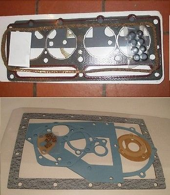 HEAD & SUMP (COMPLETE ENGINE GASKET SET) (Reliant Robin Rialto Rebel Fox Regal)  (1962- 98)