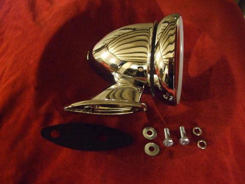 BULLET DOOR MIRROR x1 (Triumph Spitfire & GT6) (1962- 80)