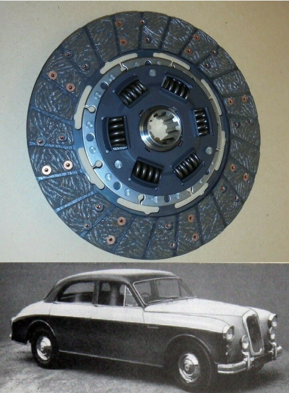 CLUTCH PLATE ONLY (Riley 2.6 Saloon) (1957- 59)