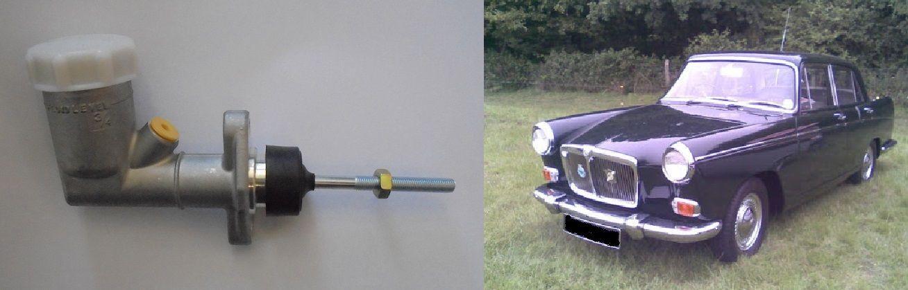 BRAKE MASTER CYLINDER x1 (MG Magnette Mk3) (1959- 61 Only)