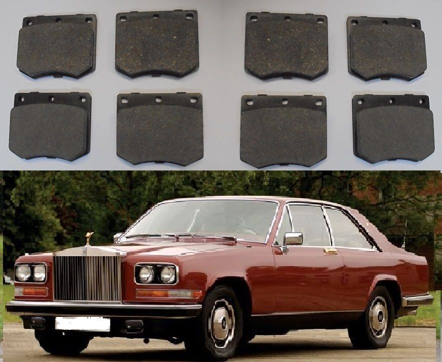 FRONT BRAKE PADS SET (Rolls Royce Camargue) (1975- 86)