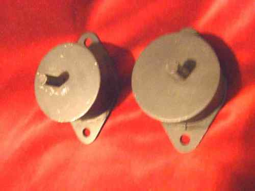FRONT ENGINE MOUNTS x2 (MGB) (** Rubber Bumper **) (From 1974- 81)