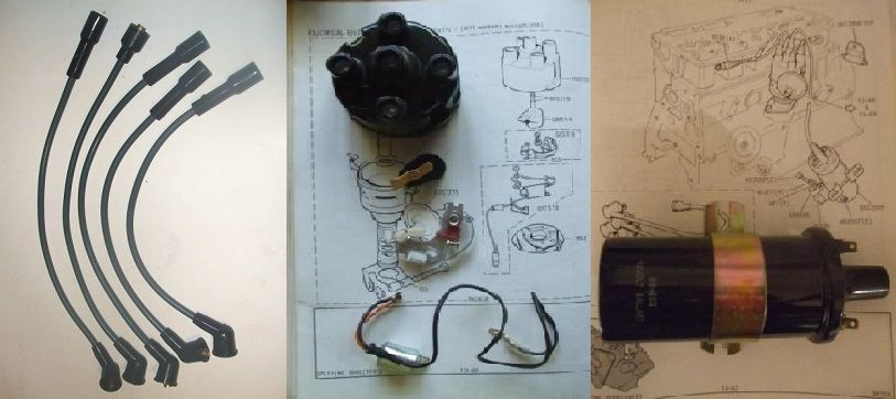 IGNITION KIT (Triumph Toledo) (1300 & 1500) (** From Dec 74- 76 **)