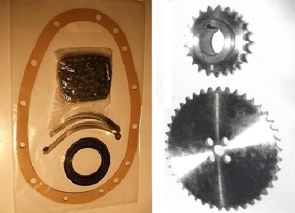 TIMING CHAIN KIT & SPROCKETS (Triumph GT6) (1966- 74)