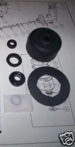 CLUTCH MASTER CYLINDER SEALS REPAIR KIT (MGA Twin Cam & De Luxe) (1958- )