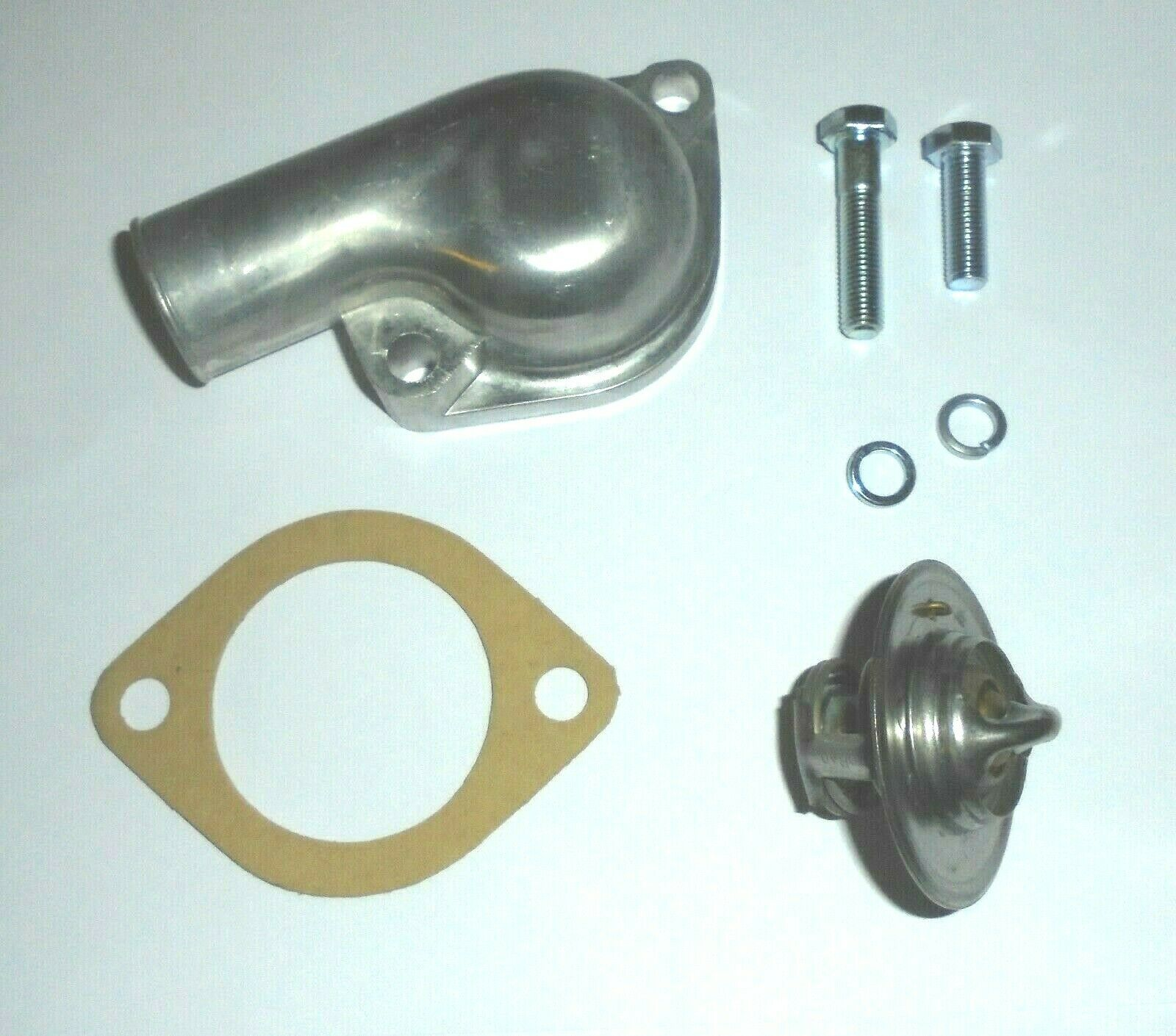 THERMOSTAT, HOUSING, GASKET & BOLTS KIT (Triumph TR5 & TR6) (1967- 76)