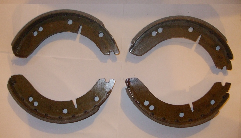 FRONT or REAR BRAKE SHOES SET (MG YB) (From 1951- 53)