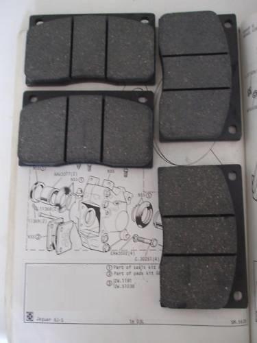 FRONT BRAKE PADS SET (Jaguar XJS) (3.6, 4.0 & 5.3)  (1975- 92 Only)