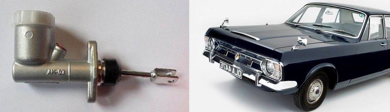 CLUTCH MASTER CYLINDER x1 (Ford Zodiac Mk4) (2.5V6 & 3.0V6) (1966- 72)