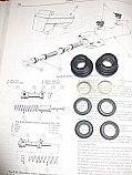 BRAKE MASTER CYLINDER REPAIR SEALS KIT (Ford Capri Mk3) (1978- 87)